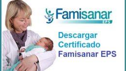 descargar certificado Eps Famisanar